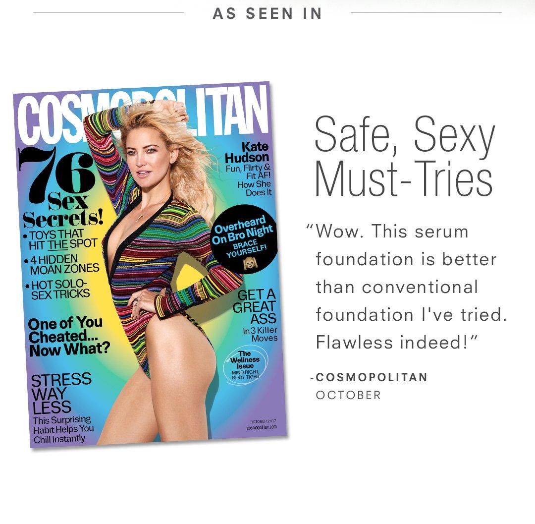 As seen in Cosmopolitan