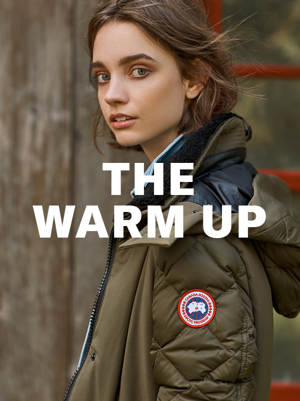 The Warm Up - Cozy, toasty, stay-warm-and-look-great coats are here! Shop now.