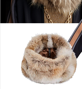 Coyote Fur Snood