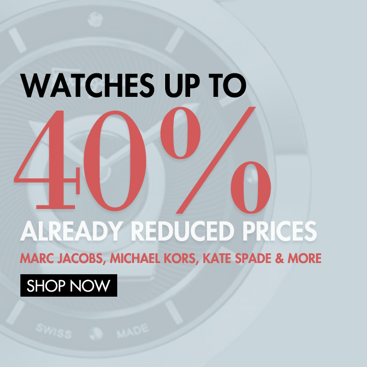 Time is of the Essence! Shop Now and Save up to 40%! What are you Waiting for?!