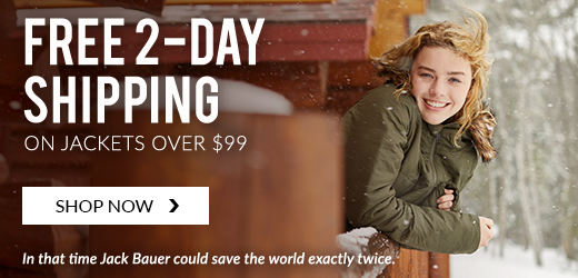Free 2-Day Shipping on Jackets over $99