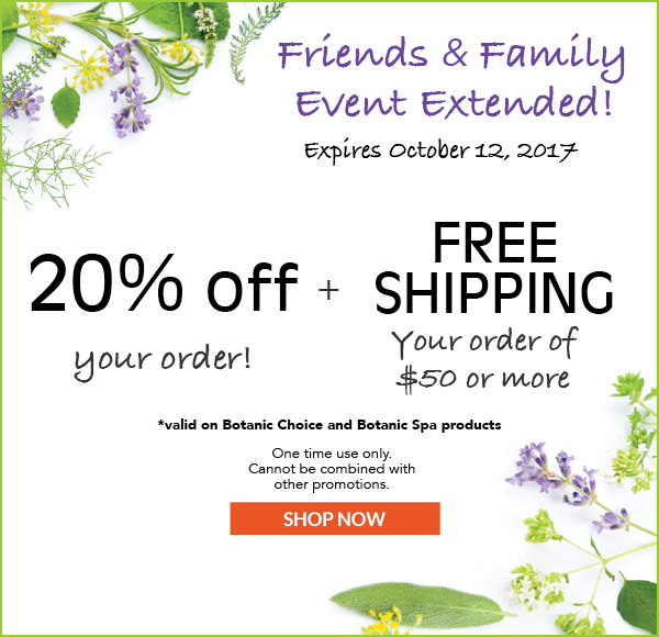 20% OFF Your Order plus free shipping on $50 or more. One time Use Only. Expires October 12, 2017