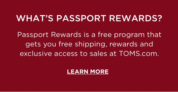 What's Passport Rewards? Learn More