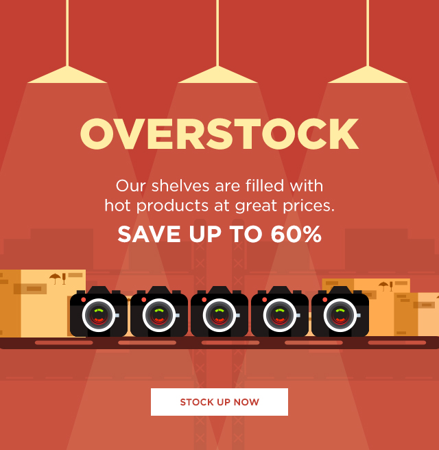 Get overstock items at up to 60% off.