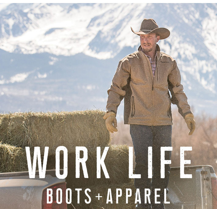 WORK LIFE BOOTS + APPAREL - Shop Now »