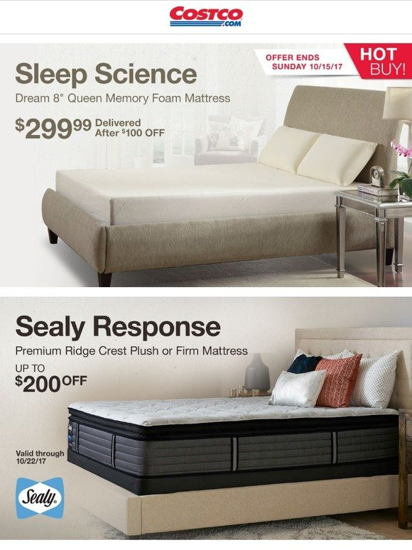 Costo Instant Savings On Name Brand Mattresses Milled