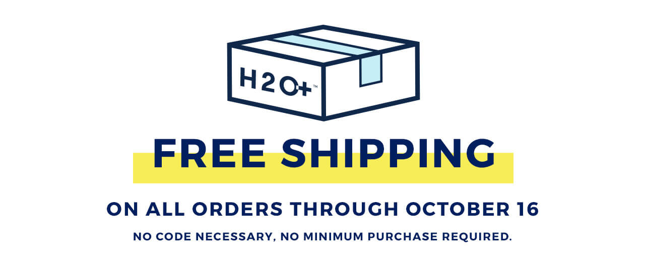 Free shipping on all orders through October 16th! No code, no min purchase.