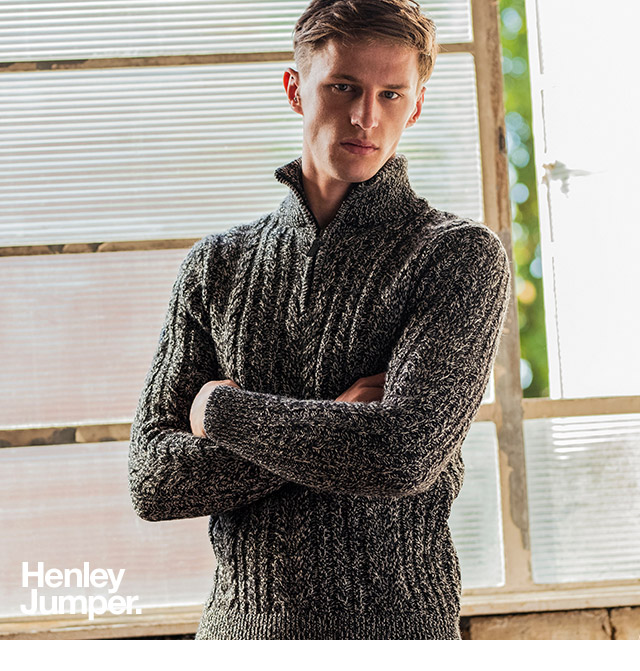 Jacob Heritage Henley Jumper