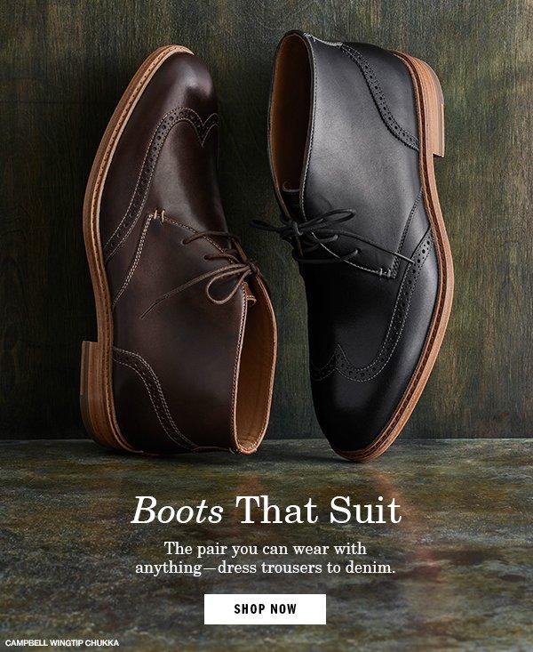 Boots That Suit