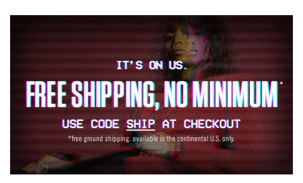 Free Shipping, No minimum! Use code SHIP at checkout.