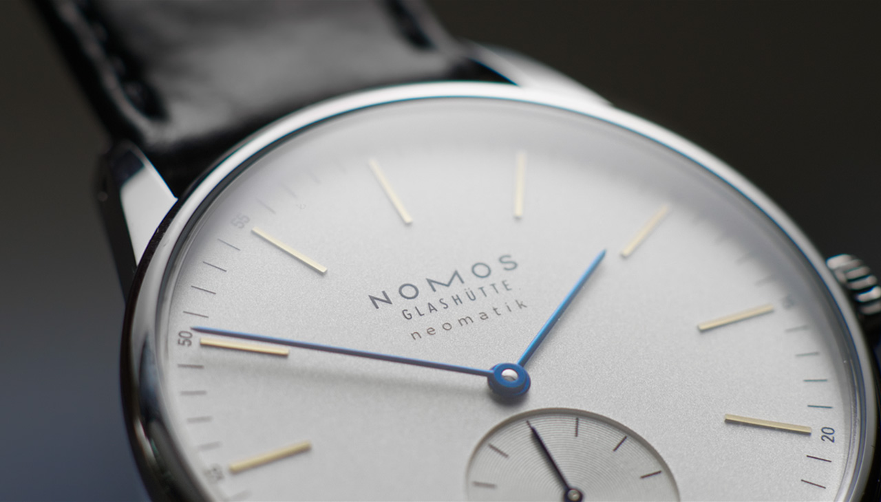 Introducing NOMOS Glashütte