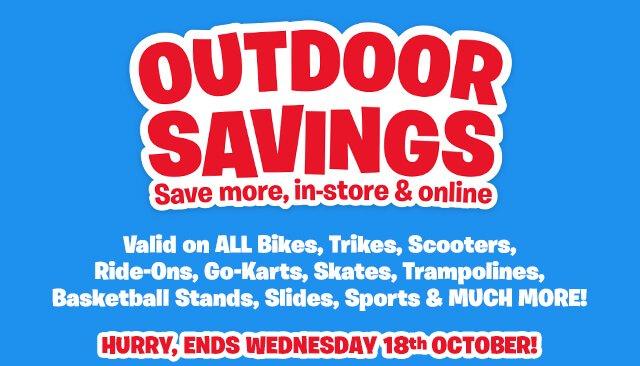 Outdoor Savings