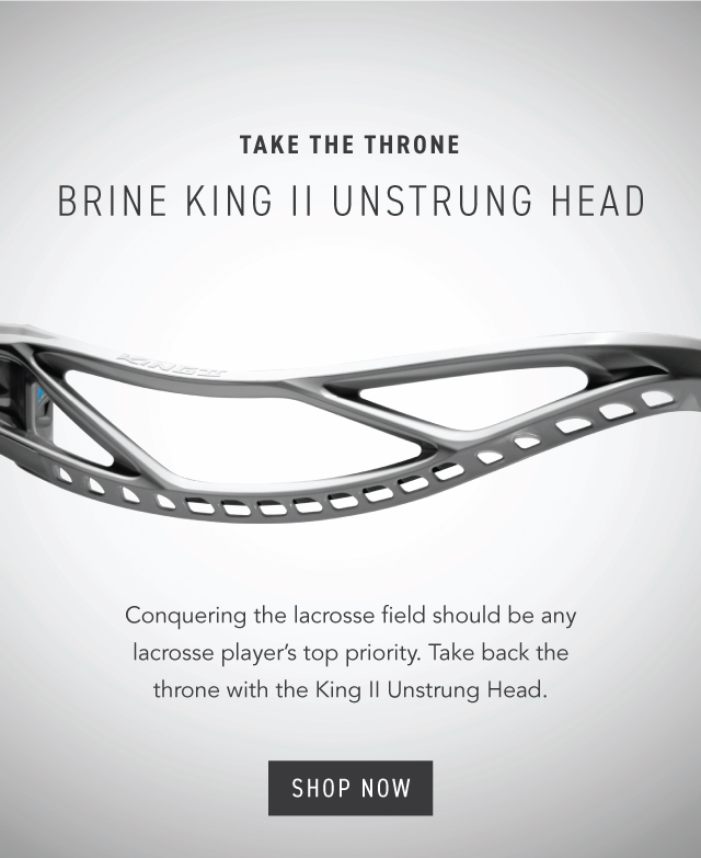 Brine King II Heads Now Available