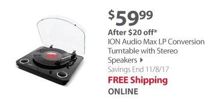 ION Audio Max LP Conversion