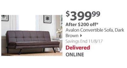 Avalon Convertible Sofa