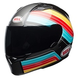 Bell Qualifier Command Blue/Red/Yellow Full Face Helmet
