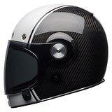 Bell Bullitt Carbon Pierce Black/White Full Face Helmet