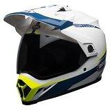Bell MX-9 Adventure MIPS Torch White/Blue/Yellow Dual Sport Helmet