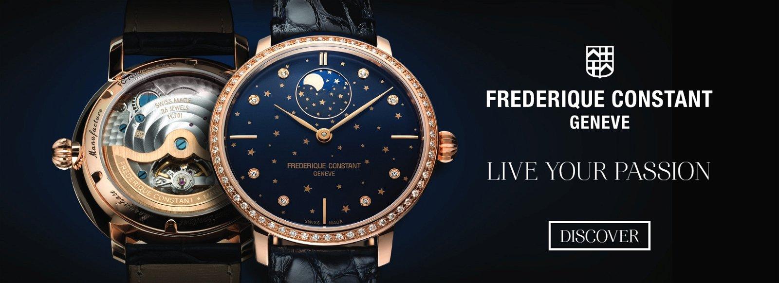 Frederique Constant: Live Your Passion