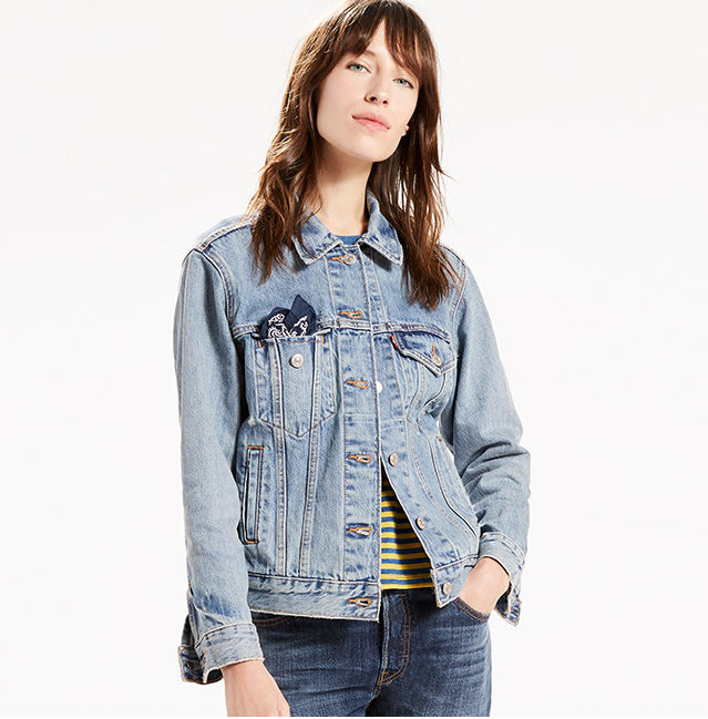 Add a lightweight Trucker Jacket. Shop Trucker Jackets for her