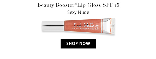 Beauty Booster(R) Lip Gloss SPF 15 Sexy Nude. SHOP NOW
