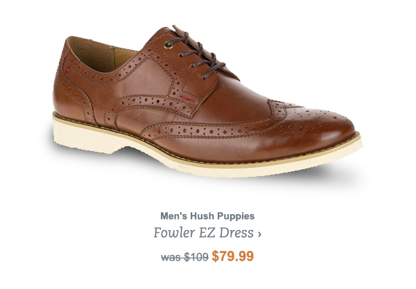 Men's Hush Puppies Fowler EZ Dress