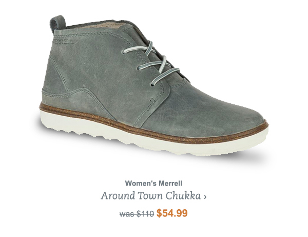 Women's Merrell Around Town Chukka