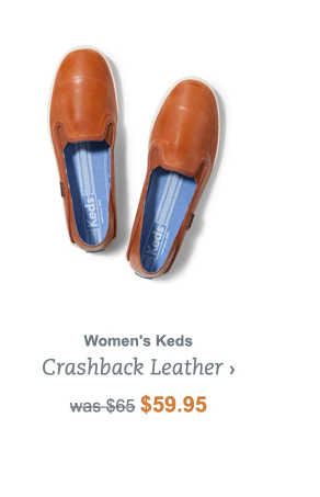Women's Keds Crashback Leather