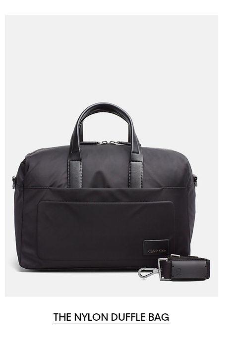 The Nylon Duffle Bag