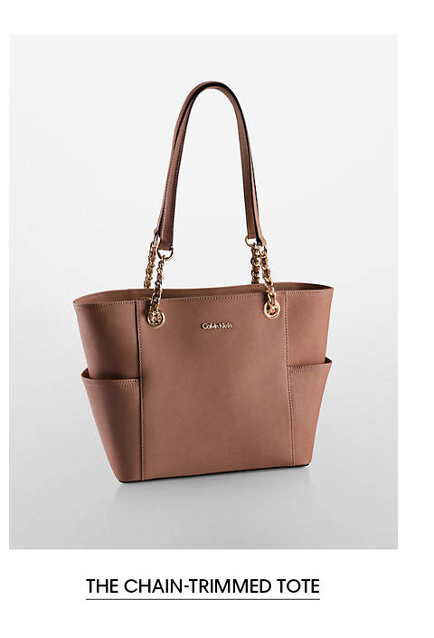 The Chain-Trimmed Tote