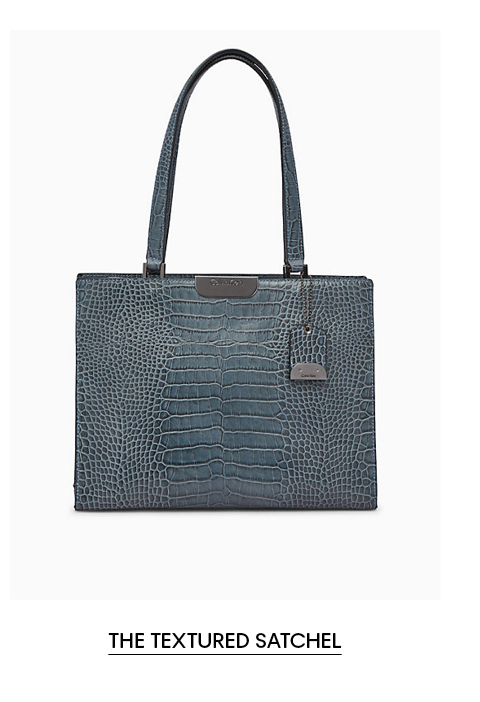 The Textured Satchel
