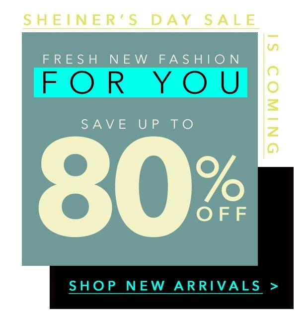f2939ff99f SheInside  SHEIN Anniversary Sale Sneak Peek  Up To 80% Off Fresh ...