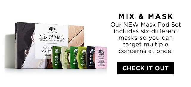 MIX and MASK Our NEW Mask Pod Set includes six different masks so you can target multiple concerns at once CHECK IT OUT