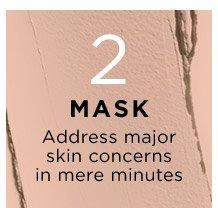 2 MASK Address major skin concerns in mere minutes