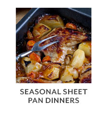 Class: Seasonal Sheet Pan Dinners