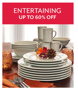 Entertaining Sale