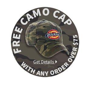 Free Camo Cap