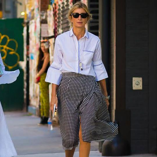 The #1 Fall Skirt Style That Flatters All Body Types