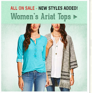 Womens Ariat Tops