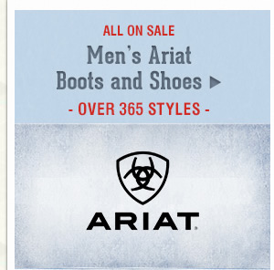 Mens Ariat Boots and Shoes