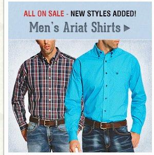 Mens Ariat Shirts