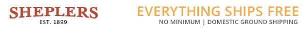 Visit Sheplers online at Sheplers.com