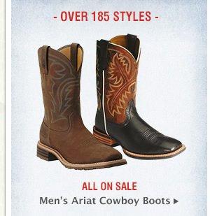 Mens Ariat Cowboy Boots