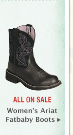 Womens Ariat Fatbaby Boots