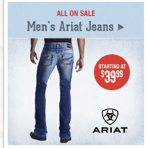 Mens Ariat Jeans