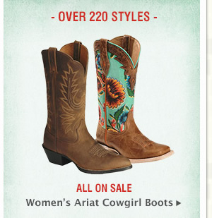 Womens Ariat Cowgirl Boots