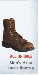 Mens Ariat Lacer Boots