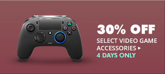 30% OFF SELECT VIDEO GAME ACCESSORIES*