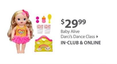Baby Alive Darci's Dance Class