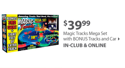 Magic Tracks Mega Set with BONUS Tracks and Car